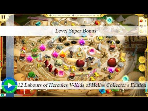 12 Labours of Hercules V-Kids of Hellas CE - Level Super Bonus |