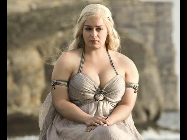 Como se verían las actrices con sobre peso