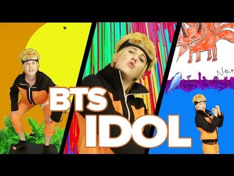 NARUTO x KPOP - BTS IDOL MV (Parody) 방탄소년단