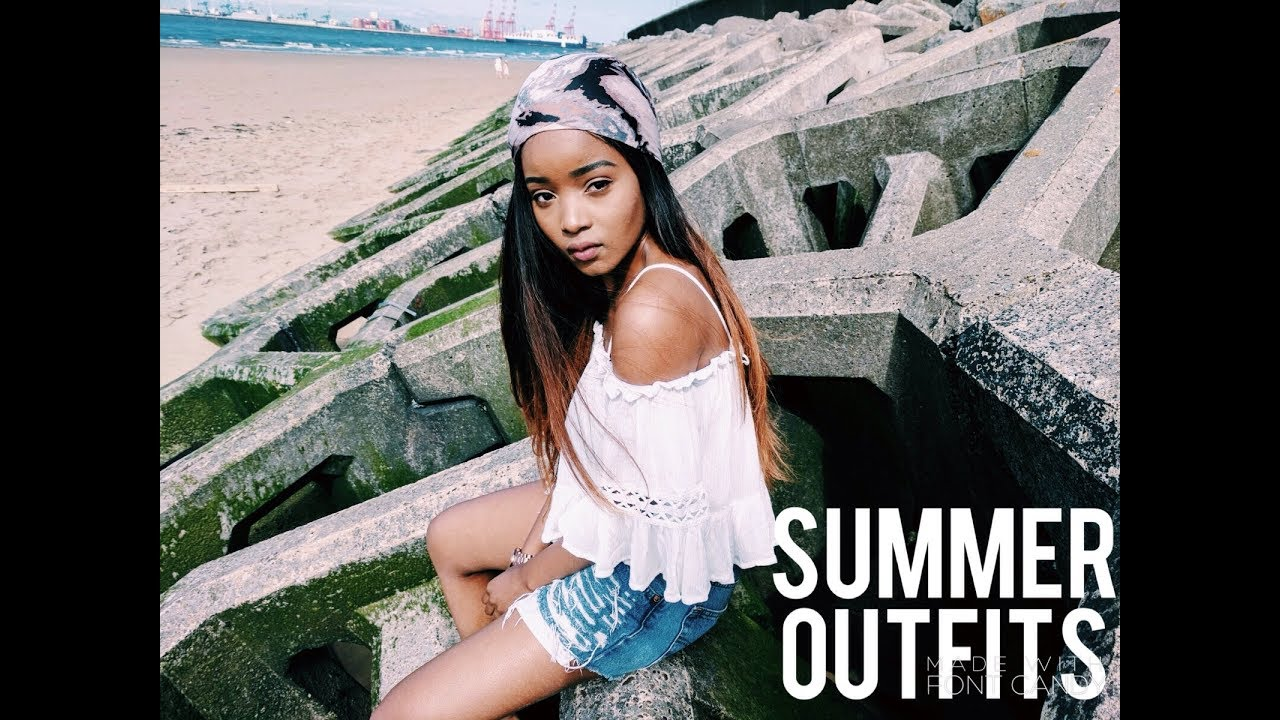 SUMMER OUTFIT IDEAS – LOOKBOOK SUMMER 2017