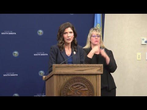 Gov. Noem on protests across South Dakota