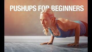 How To Do Pushups for Beginners (STEP BY STEP GUIDE!!)