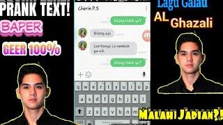 Video PRANK TEXT!PRANK TEXT CEWEK PAKE lagu galau Al Ghazali(GONE WRONG?!) download MP3, 3GP, MP4, WEBM, AVI, FLV Desember 2017