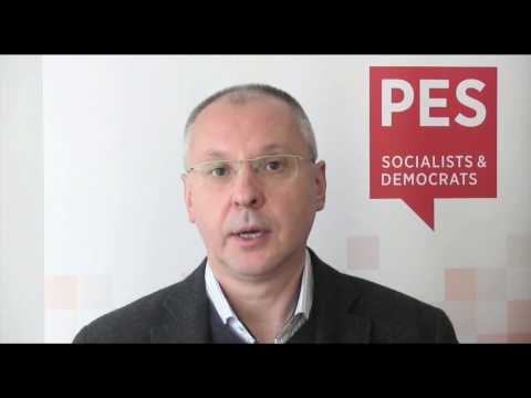 A message from the PES President to the SDLP