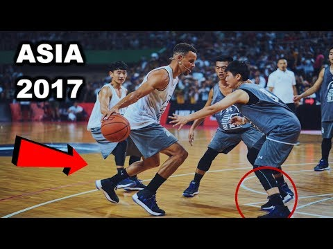 Thumbnail: Stephen Curry BREAKS ANKLES in Asia (UNDER ARMOUR TOUR 2017)