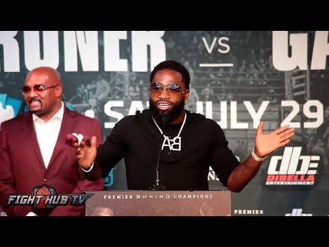 The Full Adrien Broner vs Mikey Garcia LA Press Conference video