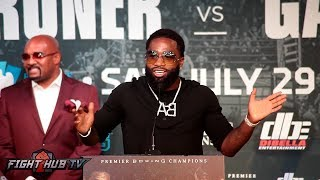 The Full Adrien Broner vs Mikey Garcia LA Press Conference video