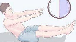 Комплекс моих ежедневных упражнений для похудения.
