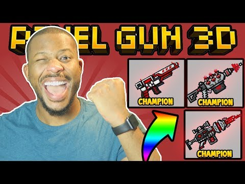 OMG! NEW CHAMPION WEAPONS! | Pixel Gun 3D