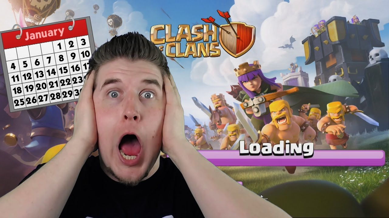 LOADING CLASH OF CLANS 1 YEAR LATER!