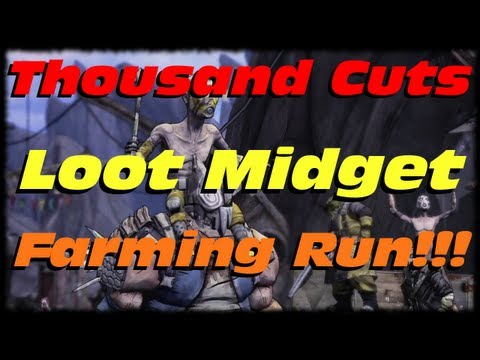 Where can I farm legendary loot midgets in Borderlands 2