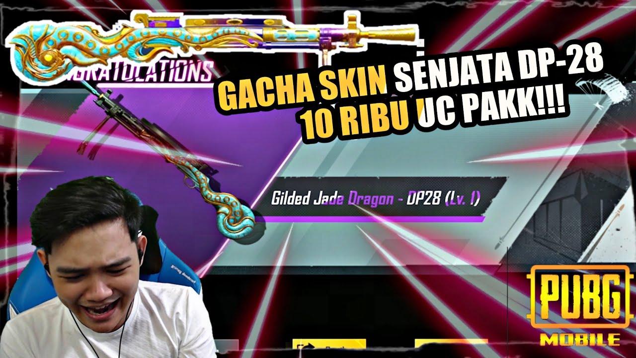 GACHA SKIN SENJATA DP-28 HABIS 10RIBU UC! || PUBG MOBILE