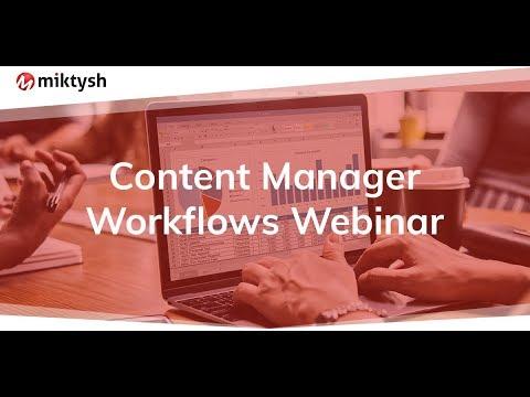 Understanding HP TRIM / Content Manager Workflows