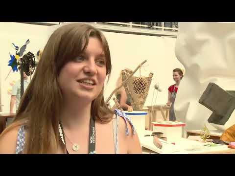 معرض فني لمصممين بريطانيين شباب  - نشر قبل 30 دقيقة