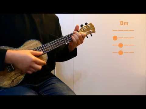 워너원(Wanna One) Beautiful 우쿨렐레 ukulele 코드 chord