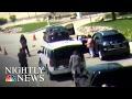Love Field Shooting Caught on Surveillance Camera   NBC Nightly News