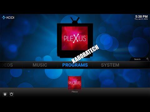 How to install Plexus add-on