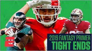The best fantasy tight ends and sleepers for 2019 | Fantasy Football Primer