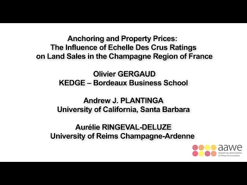 Olivier Gergaud Presentation (9th AAWE Conference)