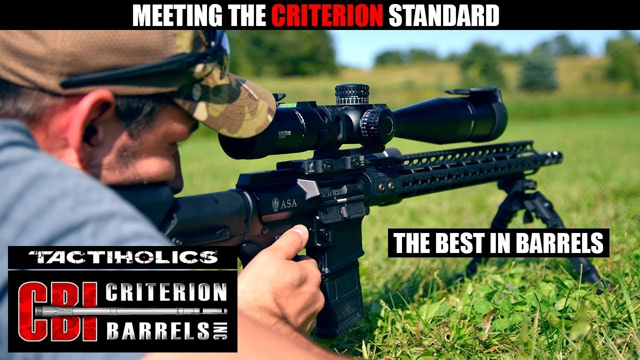 Meeting the Criterion Standard | The Best In Barrels - Tactiholics™