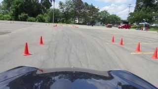 Driving my 996 at an autocross