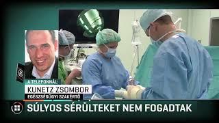 Súlyos sérülteket nem fogadott a Honvédkórház 2019-05-12