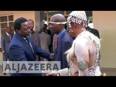 DR Congo violence: President Kabila revisits troubled Kasai region