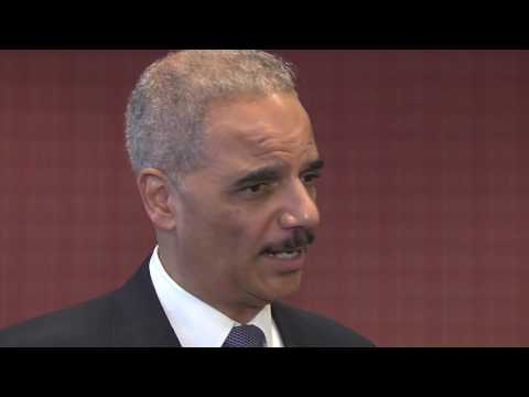 Former Attorney General Eric Holder on Attorney General Jeff Sessions' recusal