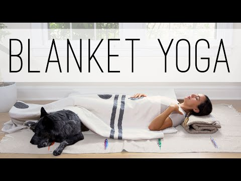 Blanket Yoga | Yoga With Adriene
