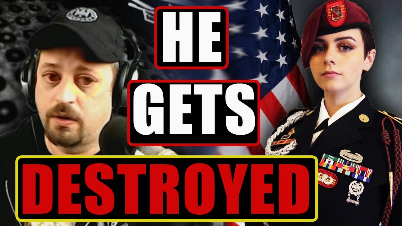 Military Bro Veteran ATTACKS 82nd Airborne Soldier Saying She NEVER SERVED?! (She DESTROYED Him)