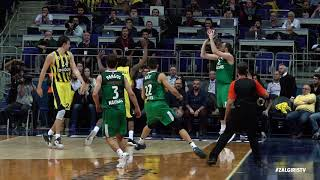 Milaknis sinks it for the win vs EuroLeague champions!