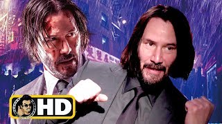 Keanu Reeves Exclusive JOHN WICK 3 Interview (2019)