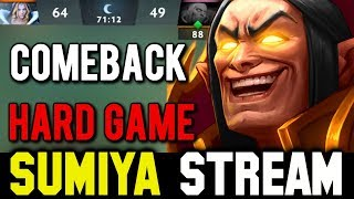 Sumiya 71min Hard Game & Comeback | Sumiya Invoker Stream Moment #215