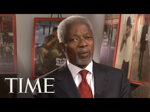 TIME Magazine Interviews: Kofi Annan