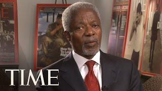 TIME Magazine Interviews: Kofi Annan