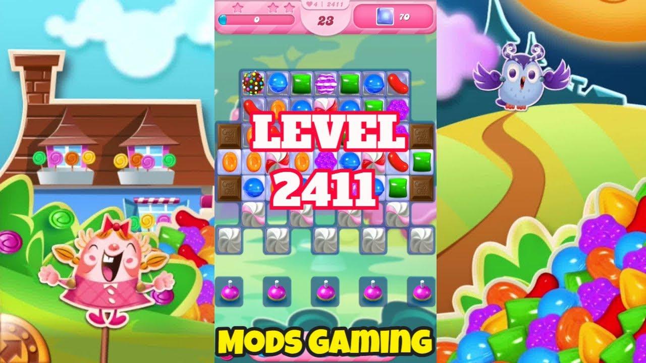 Candy Crush Saga Level 2411 Gameplay #Shorts 🍬 @MODS GAMING