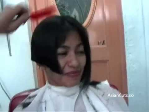 Vid 725 - Elva Very Long To Short Bob
