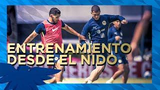 Entrenamiento Club América Desde el Nido Águila