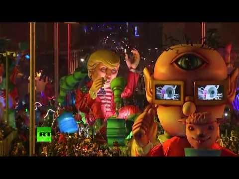 Les festivités de la 133e édition du carnaval de Nice (Direct du 11.02)