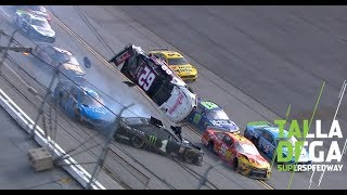Gaughan reacts to 'Dega flip NASCAR at Talladega Superspeedway