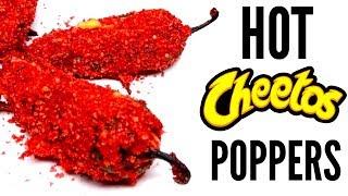FLAMIN' HOT CHEETOS JALAPENO POPPER DIY | How To