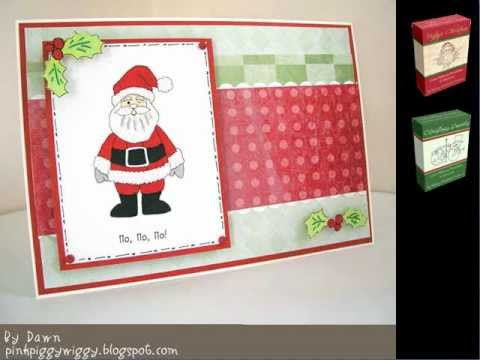 Ideas For Christmas Cards To Make.Card Making Ideas Vintage Christmas Card Making Kit