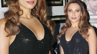 Iulia Vantur Hot Cleavage At Her New Song Launch
