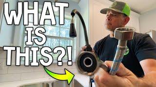Installing (Battling) a Dumb Amazon Faucet