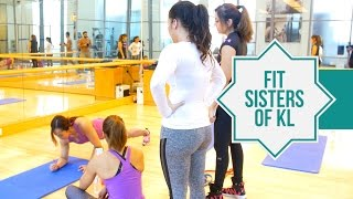 Basic Home Workouts | Fit 4 Fasting | Fit Sisters of KL