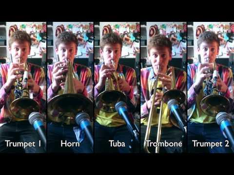 Tetris for Brass Quintet