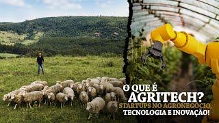 O que é Agritech (agtech)? Startups no Agronegócio, tecnologia e inovação! | Minuto Agronegócio #03