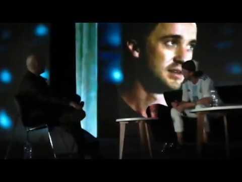 Tom Felton's Q&A panel at Argentina Comic Con, December 10, 2017