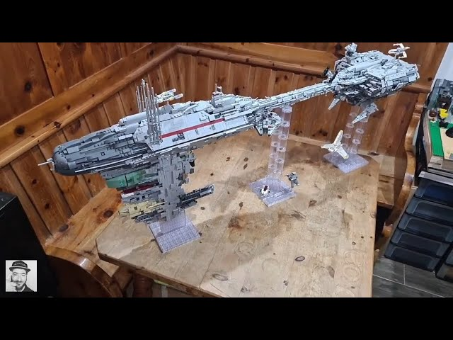 Nebulon B - StarWars Moc - Mouldking 21001 - Finale (58)