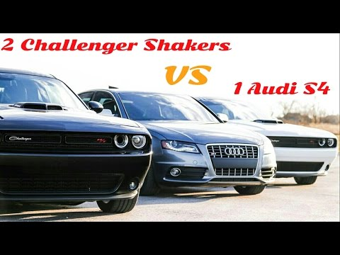Damn, that Audi S4 is FAST!